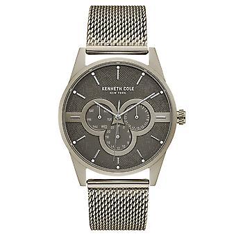 Da polso orologio analogico al quarzo in acciaio inox Kenneth Cole New York uomo KC15205002
