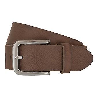 Timberland bälten mäns bälten läder bälte jeans brun 6760