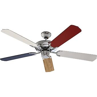 Ceiling fan SuperStar Beech with pull cord 132cm / 52