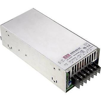 يعني جيدا HRP-600-24 AC/DC وحدة PSU (+ الضميمة) 27 A 648 W 24 V DC