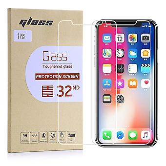Extra Armoured Tempered Glass for Apple iPhone X - 2 Pack