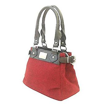Harris Tweed Handbag Sophie (Harris Tweed Red)