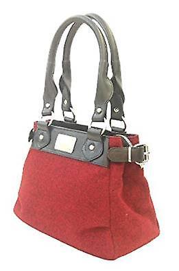 Harris Tweed Handbag Sophie (Harris Tweed Red)