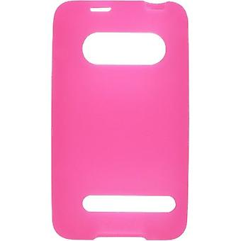 5 Pack -Wireless Solutions Silicone Gel Case for HTC EVO 4G 9292 - Dark Pink