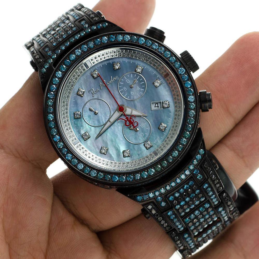 Joe Rodeo diamond men's watch - MASTER black 25 ctw