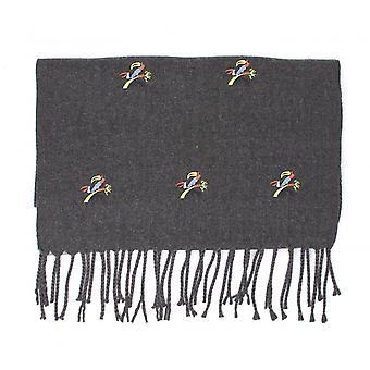 特桑蒂鹦鹉莫蒂夫冬季围巾