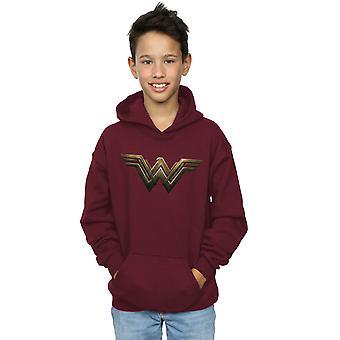 DC Comics niños maravilla mujer Logo Hoodie