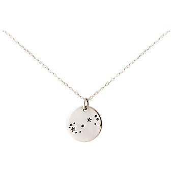 Constellation necklace horoscope scorpion Scorpio 925 silver, gold plated, rose