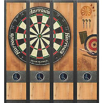 Spine Label Dart Board