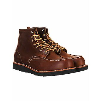 """Red Wing 8886 Heritage Work 6"""" Moc Toe Boot - Copper Rough & Tough"""