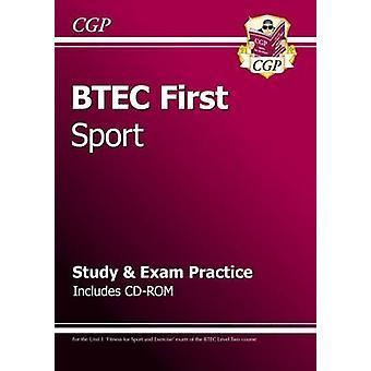 KOSKEVA ensimmäinen Sport - tutkimus & sertifiointitestiä käytäntö CD-ROM CGP Books
