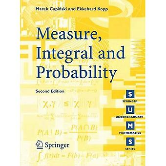 Measure, Integral and Probability (Springer Undergraduate Mathematics)