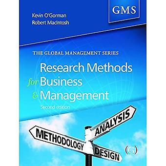Research Methods for Business and Management: A Guide to Writing Your Dissertation (Global Management Series)