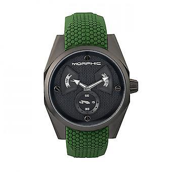 Morphic M34 serie for menn ur med dag/dato-sort/grønn