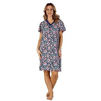 Slenderella GL3701 kvinders Gaspe nat kjole Loungewear natkjole