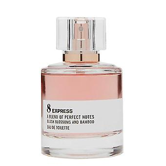 Express 8 A Blend Of Perfect Notes Blush Blossoms And Bamboo EDT 1.7oz New InBox