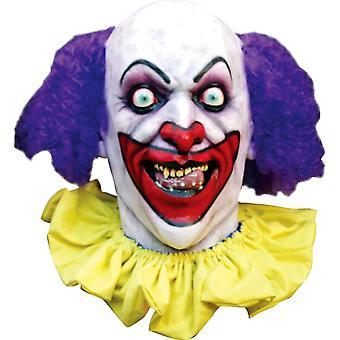 Lust klovn maske til Halloween