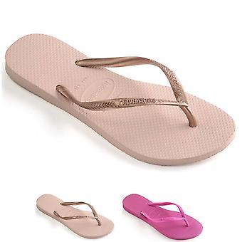 Unisex Kids Havaianas Slim Lightweight Summer Holiday Toe Post Flip Flop