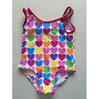 أكوا بيرلا-بيبي - بيبي دولى - مطبوع - Spf50+ -baby- ملابس سباحة قطعة واحدة