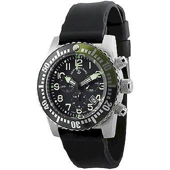 Zeno-watch reloj avión diver Cuarzo Cronógrafo 6349Q-Chrono-a1-8