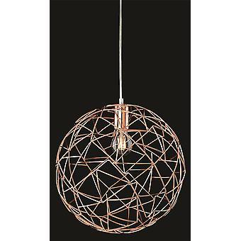 Firstlight-1 techo ligero colgante de cobre-7638CP