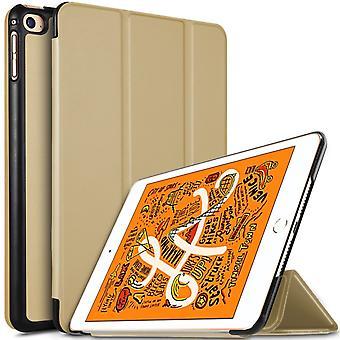 iPad Mini 2019/Mini 4 Slim fit Tri-fold Case-gold