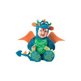 Kids Baby Dinky Dragon Dinosaur Fancy Dress Costume