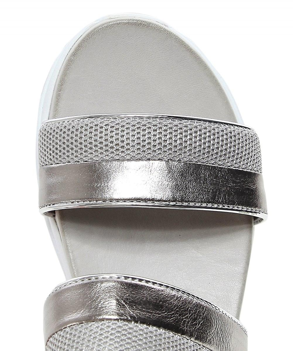 Inuovo Leather Chunky Trainer Sandals