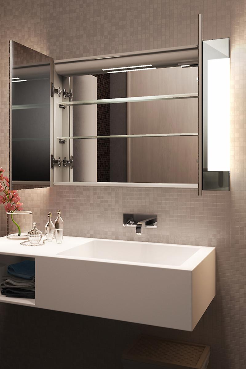 Gentle dévésiculeur Bathroom Cabinet avec désembuage, capteur & rasoir k1502i