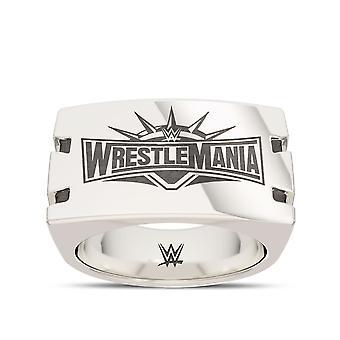 Wrestle Mania ring in Sterling Zilver ontwerp door BIXLER