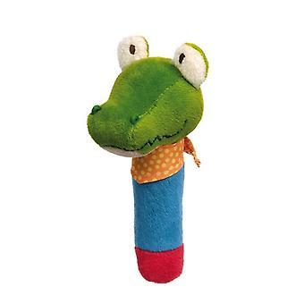 Sigikid napata kuva krokotiili Squeaker kanssa Peep PlayQ