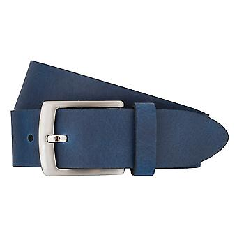 BERND GÖTZ Gürtel Herrengürtel Ledergürtel Blau 7476