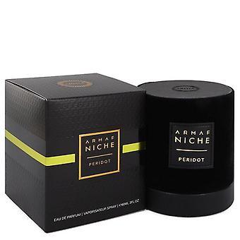 Armaf niche peridot eau de parfum spray (unisex) by armaf 542400 90 ml