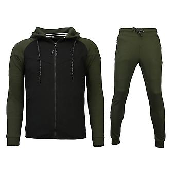 Trainingspakken Windrunner Basic - Groen / Zwart