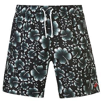 Hot Tuna Men Printed Shorts Beach Pool Surf Summer