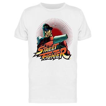 Street Figher M Bison Capcom tee Men ' s-Capcom designs