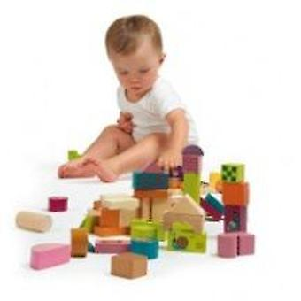 Oops Happy Building Blocks Wooden Toys