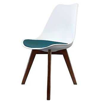 Fusion Living Eiffel Inspiré Blanc et Essence Blue Plastic Dining Chair With Squared Dark Wood Legs Fusion Living Eiffel Inspiré Blanc et Essence Blue Plastic Dining Chair With Squared Dark Wood Legs Fusion Living Eiffel Inspiré Blanc et Essence Blue Plastic Dining Chair With Squared Dark Wood Legs Fusion Living