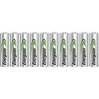 AA batterij (oplaadbaar) NiMH Energizer Power-Plus HR06 2000 mAh 1,2 V 10 PC (s)