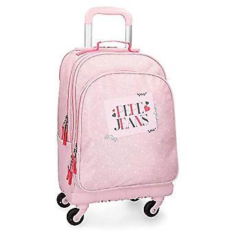 Pepe Jeans Olaia rosa rullande ryggsäck 4W