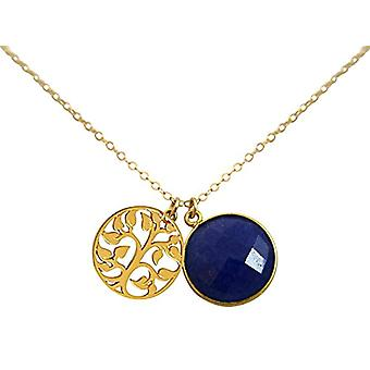 Gemshine Necklace with Donna vermeil pendant - CGA5433