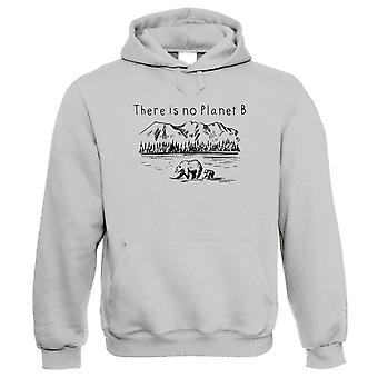 There Is No Planet B, Hoodie - Environmental Nature Wildlife Conservation