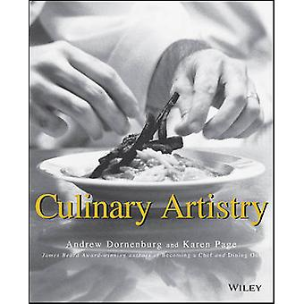 Culinary Artistry by Andrew Dornenburg - Karen Page - 9780471287858 B
