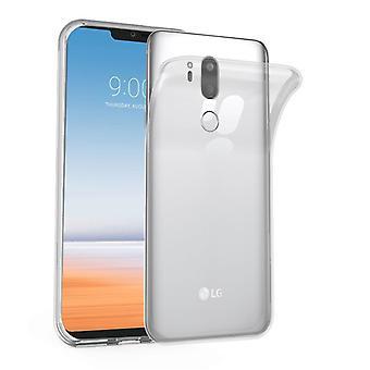 حالة Cadorabo لغطاء حالة LG G7 ThinQ - حالة هاتف سيليكون TPU مرنة - حالة السيليكون الواقية فائقة سليم لينة الغطاء الخلفي الوفير