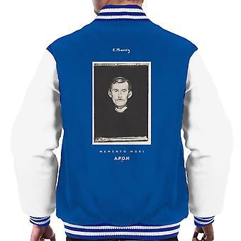 A.P.O.H Edvard Munch Portrait Men's Varsity Jacket
