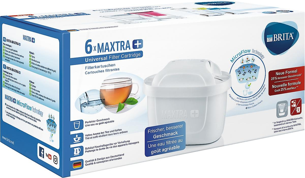 BRITA filter cartridge Maxtra+ in a 6-pack