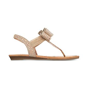 Material Girl Womens Shayleen Open Toe Casual Slingback Sandals