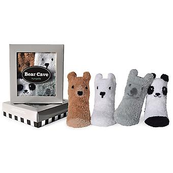 Socks - Trumpette - Bear Cave Socks 0-12M (Set of 4)