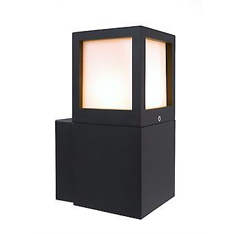 Buitenwand lamp Facado A antraciet 245mm E27
