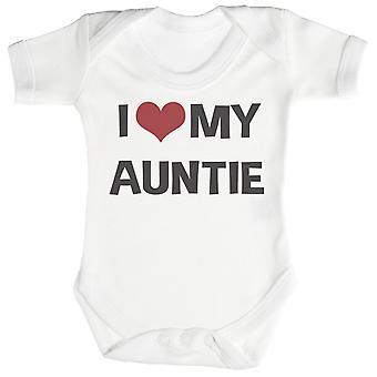 Eu amo minha tia bebé Bodysuit / Babygrow